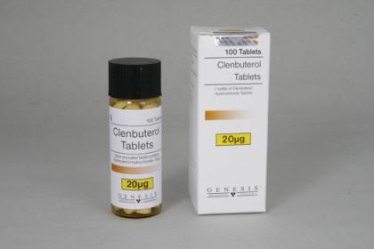Clenbuterol tabletit 20mcg (100 tab)