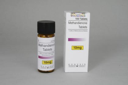 Methandienone tabletit 10mg (100 tab)