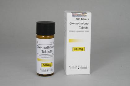 Oxymetholone tabletit 50mg (100 tab)
