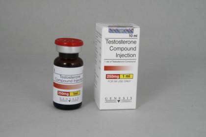 Testosteroni mix injektio 250mg/ml (10ml)