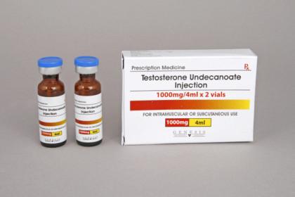 Testosteroni undekanoaatilla injektio 500mg/amp (2 amp)